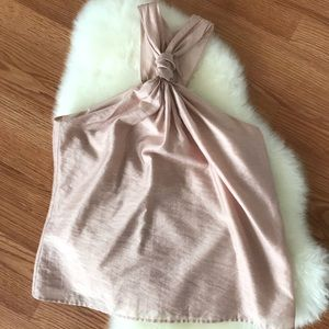 EUC Joie baby pink knotted halter tank 🎀
